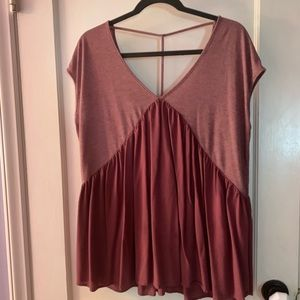 Anthropologie low-back top